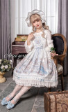 Alice Girl ~Angel 2.0 Girl's Room Lolita JSK -Pre-order