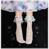 Yidhra Lolita ~Akuya Tears of the Sea~ Ocean Series Lolita Socks-Pre-order