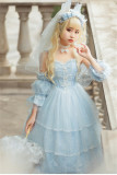 Princess Kanter~Bridal Lolita OP -Ready Made