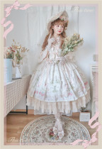 First Love to be Continued~Gorgeous Version Lolita OP-Pre-order
