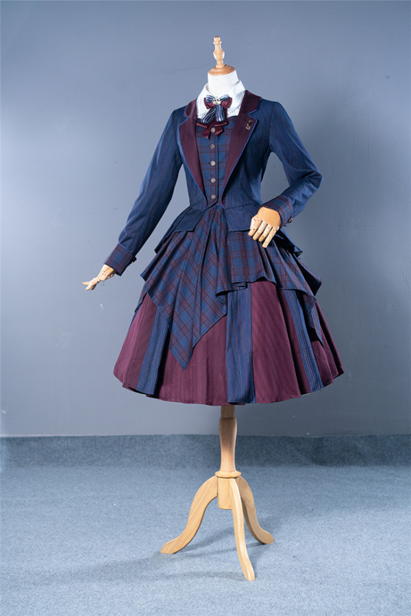 Fantastic Wind ~The Future Can Be Expected~ Top Students Lolita Suit Coat -Pre-order