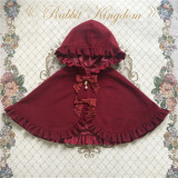 Rabbit Kingdom~Lolita Hooded Cloak-Pre-order