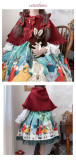 Rabbit Kingdom~Lolita Hooded Cloak-Pre-order