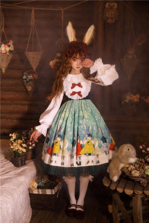 Rabbit Kingdom~Lolita JSK-Pre-order