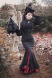 Surface Spell ~Lorelai Gothic Lolita Fishtail Skirt