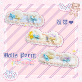 The Rainbow Circus~ Sweet Lolita Accessories - Ready Made