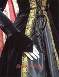 Surface Spell ~Assassin's Creed Big Hood Velvet Long Gothic Lolita OP Custom-tailor Available