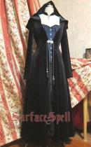 Surface Spell ~VELVET EDEN  Long Gothic Lolita Coat Custom-tailor Available
