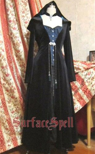 Surface Spell ~VELVET EDEN  Long Gothic Lolita Coat Custom-tailor Available