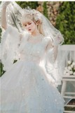 Flower Fairy~Tea Party Lolita OP-Ready MADE