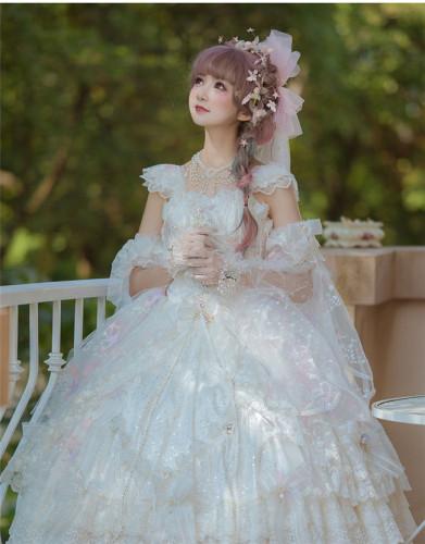 Heaven's Wedding Dress ~Tea Party Lolita JSK -Ready MADE