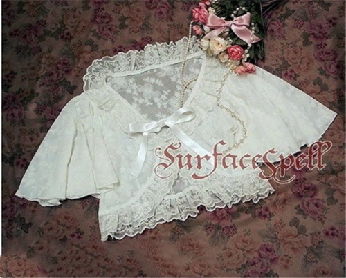 Surface Spell ~Sugar Rose Gothic Lolita Coat