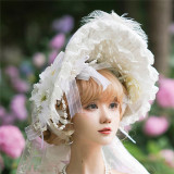 Heaven's Wedding Dress ~Tea Party Lolita Accessories -Ready MADE
