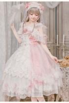 Glass Phantom ~Tea Party Lolita Dress -Ready MADE Size M - In Stock