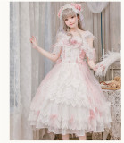 Glass Phantom ~Tea Party Lolita Dress -Ready MADE