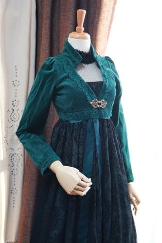 Surface Spell ~Josephine Gothic Lolita Coat Custom-tailor Available