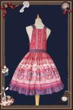Infanta ~Animal Show Lolita Salopette- Ready Made