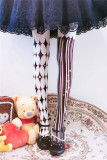 Ruby Rabbit ~Clown Halloween~ Lolita Tights-Pre-order