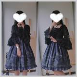 Little Dipper ~Suta Lolita Little Bear Constellation Blouse- Pre-order