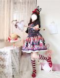 Little Dipper ~Bobo Milk Tea Lolita Blouse- Pre-order