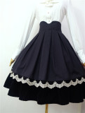 Little Dipper ~Old Style Lolita Little Bear Constellation Skirt- Ready Made