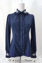 Little Dipper Rose Embroidery Blouse Normal Version Limited QTY Pre-order