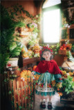 Rabbit Kingdom~Lolita Hooded Cloak For Kids-Pre-order