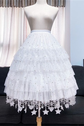 Star Yarn Lolita Petticoat Length Adjustable - In Stock