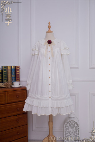 Ichigomikou Original Design Le Petit Prince Lolita Blouse -Ready Made