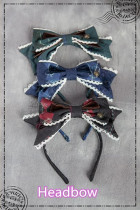 Ichigomikou ~Detective Family~ Lolita Accessories -Ready Made