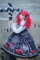 Tommy Bear ~Strawberry Vampire Lolita JSK