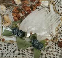 Bone Porcelain Vase~Vintage Lolita Accessories-Pre-order
