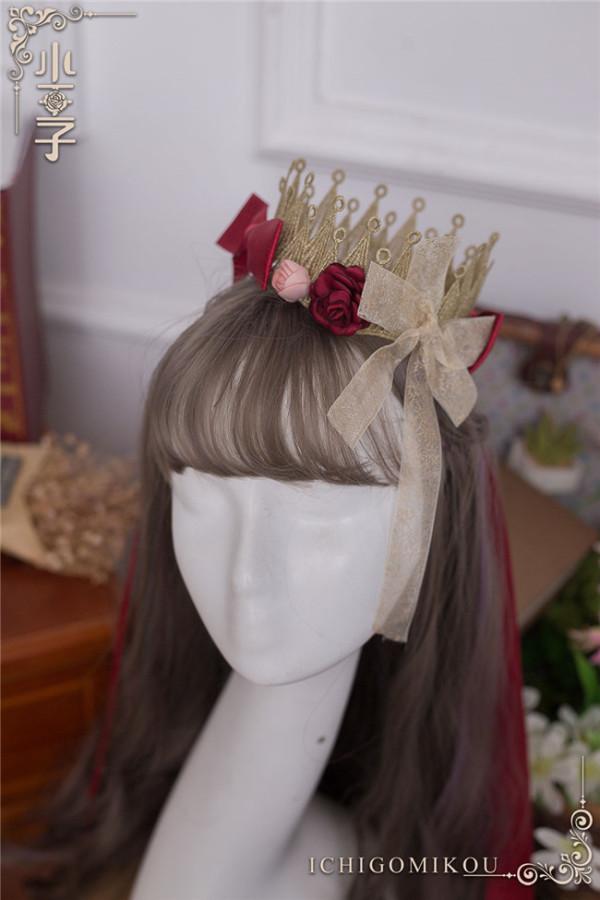 Ichigomikou Original Design Le Petit Prince Lolita Accessories -Ready Made