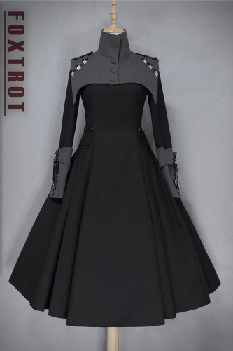 Foxtrot Lolita ~The Principle of Strengths Military Lolita OP -Pre-order