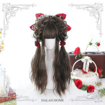 Dalao Home ~Wuzhu Lolita Long Curly Wigs