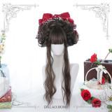 Dalao Home ~Wuzhu Lolita Long Curly Wigs