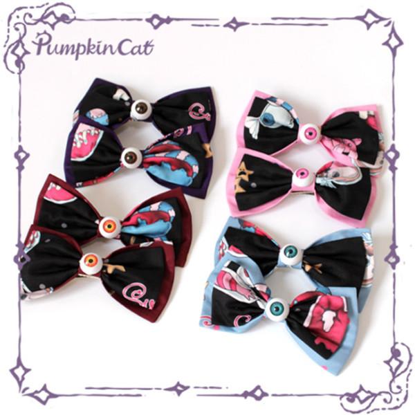 Pumpkin Cat ~Creepy Sugar Lolita Accessories-Pre-order