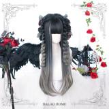 Dalao Home ~Canglan Lolita Long Curly Wigs