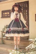 Fantastic Wind ~Humanoid House~ Stripe Lolita JSK-Pre-order
