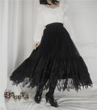 Boguta Lolita~ Fairy Feather Lolita Petticoat/Skirt-Pre-order