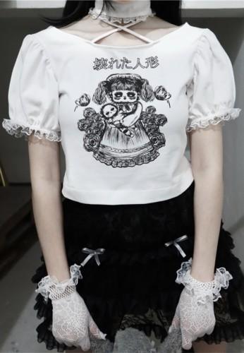 Blood ~Lost Humanoid Lolita T-shirt