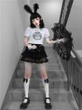 Blood ~Lost Humanoid Edge Goth Tee