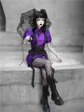 Blood ~Purple Butterfly Dream Lolita OP