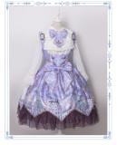 Night of Unicorn ~Vintage Corset Lolita Blouse