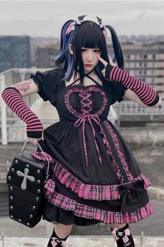 Diamond Honey ~Little Witch~ Puff Sleeve Lolita OP