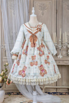 Alice Girl ~Navy Bear Lolita OP -Pre-order