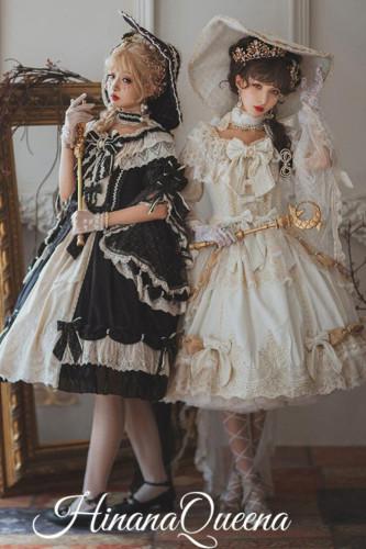 HinanaQueena ~Feast of Platinum~ Elegant Vintage Lolita OP -Pre-order
