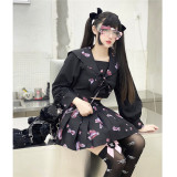 Diamond Honey ~Naval Collar College Style~ Lolita Top + Skirt Set