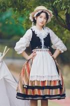 With PUJI ~Huasha Weekend Lolita SK Set-Pre-order