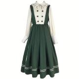 With PUJI ~Jingjing Old School Dress-Pre-order